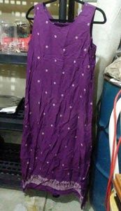 Purple flowy dress Sz 8